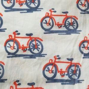 Anthropologie Dresses - Vintage Anthro Bike Lane Dress - Bicycle Print